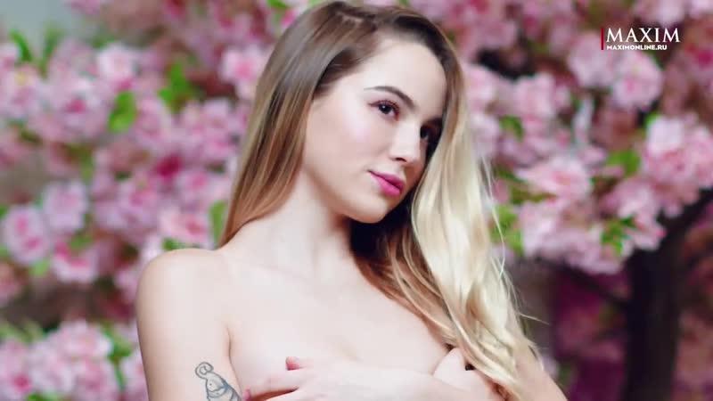 Марьяна Ро голая засветила соски на фотосессии для журнала максим показала голую грудь засветила жопу слив блогерш стримерш