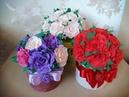 Подарок для МАМЫ своими руками Розы из фоамирана A gift for your MOTHER with your own hands