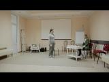 СОБАКА (учебный этюд), в ролях: Анна Музыка, Анастасия Романенко, ИНСАЙТ, 2018