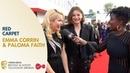 Paloma Faith and Emma Corrin Talk The Crown and Acting BAFTA TV Awards 2019