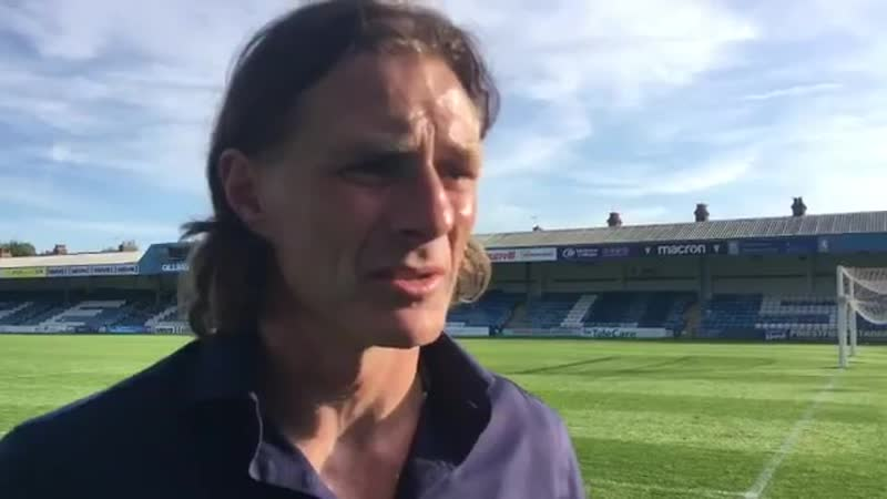 Gareth Ainsworth reflects on the 2-0 loss to Gills, but looks ahead to the chance to return to winning ways at Adams Park