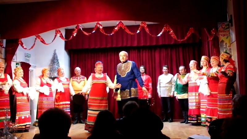 Рождественский концерт Терлецкая дубрава 1 часть
