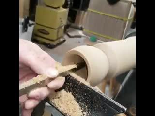 Настоящий кубок из деревяшки