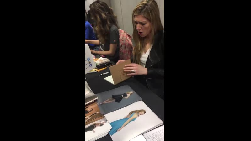 Hey to the lovely girl who just met @jesmacallan at LCC Spring in London and gave her the fanbook I got this little video I