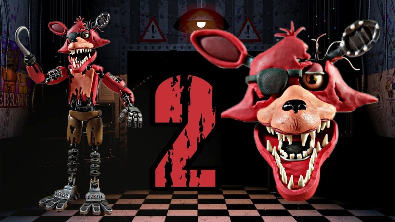 WITHERED FOXY 😱😱(FNAF 2) (REMAKE) PLASTILINA✔✔✔ PORCELANA✔✔ POLYMER CLAY✔