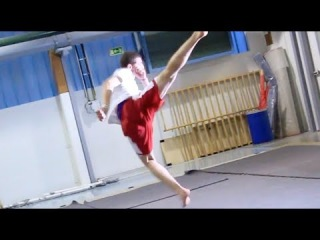 Tricking Saturday Gym Session - Tampere Open 2014 Part 3
