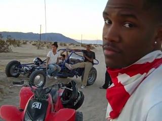 A Day in the Desert (w/ Frank Ocean, Alycia Bella and Midi Mafia) 2009