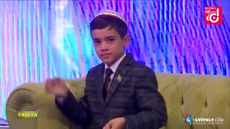 Dowran Amandurdyyew Soyyan Diyay Yashlyk Teleyaylymy