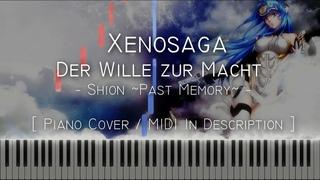 Shion ~Past Memory~ (Xenosaga: Der Wille zur Macht) - Synthesia / Piano Tutorial