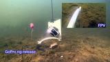 DJI Phantom2 winch camera with rig release for carp fishing