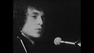 Bob Dylan Ballad Of A Thin Man LIVE HD FOOTAGE RESTORED AUDIO May 1966