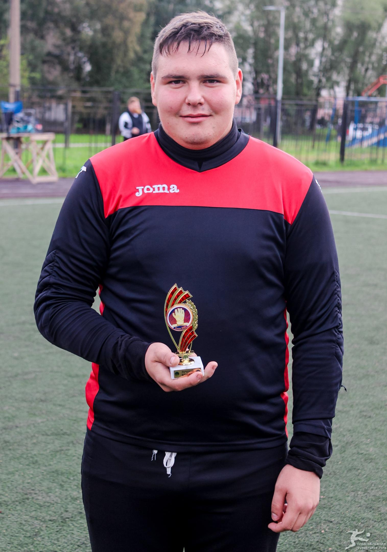Дмитрий Смирнов (Пэрадайз) - лучший вратарь 19-го Открытого кубка 6x6.