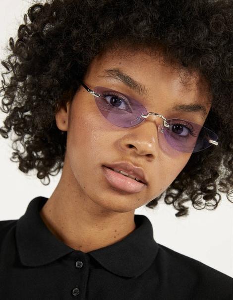 Солнечные очки в стиле «кошачий глаз»