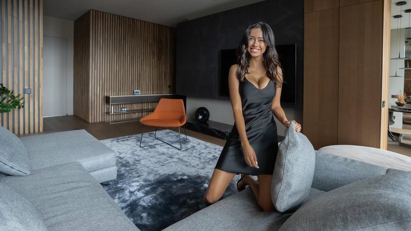 Дизайн квартиры для холостяка за $1 000 000 Room Tour ЖК Алые Паруса