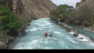 Река Чилик (Рафтинг)