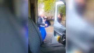 Неадекватный водитель напал на водителя скорой помощи в Алматы