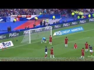 France vs Spain 1-0 Loic Remy Goal Friendly Match 2014