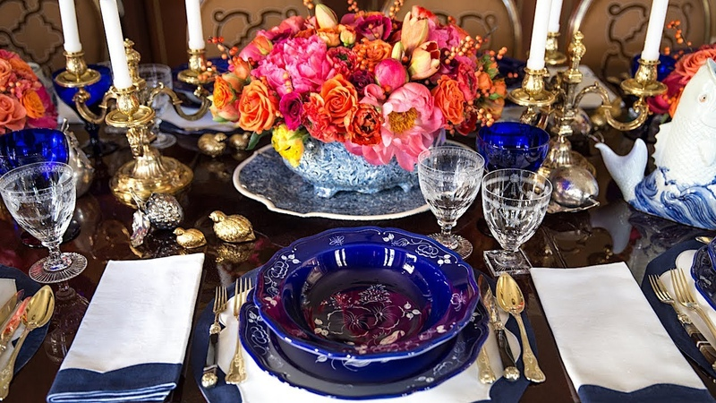 Setting the Table in the Hamptons with Alex Papachristidis