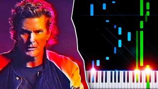 True Survivor (from Kung Fury) - Piano Tutorial