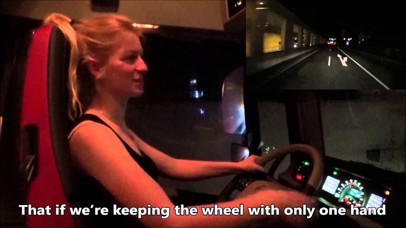 Trucking Girl Gabarytowy konwój cz 2 Oversize load convoy part 2 ep 37