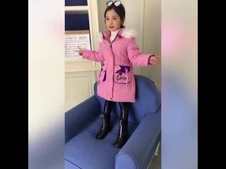 Mudipanda/детская хлопковая стеганая меховая куртка зимнее пальто для девочек подростков детская