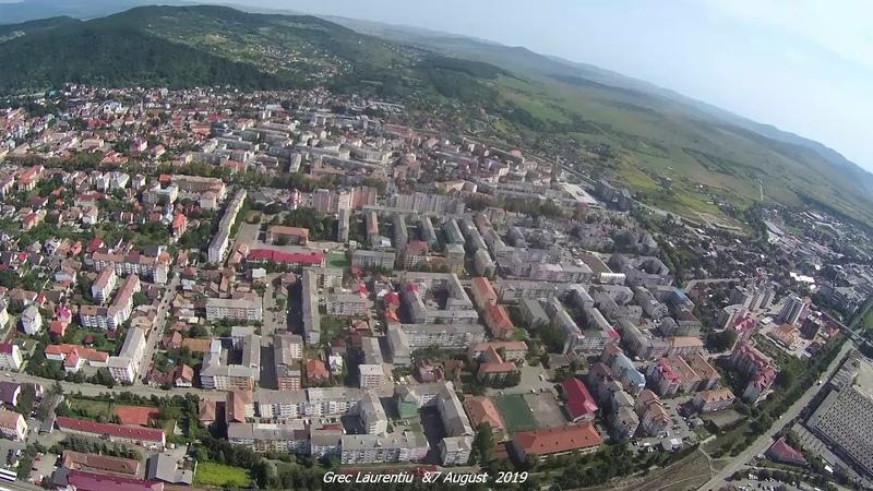 ROMANIA Bistrița Filmare aeriană 7 august 2019 Experiment 1