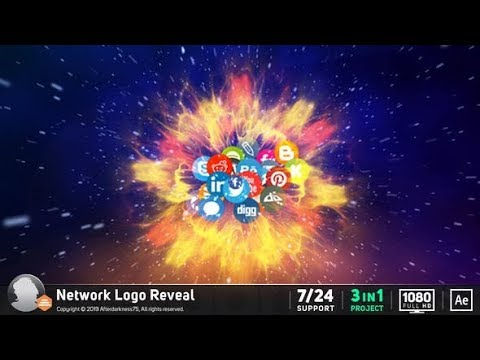 Network Logo Reveal videohive