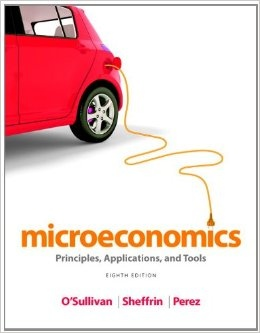 Microeconomics Principles- Applications- and Tools (8th Edition)