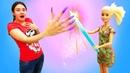 Салон красоты сБарбии Леди Баг — Веселая Школа для детей— Куклы иигрушки прихорашиваются