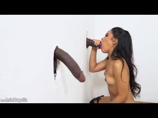 GloryHole Violet Rae- Glory Hole Slutty Busty MILF Cum Swallow DogFart Network