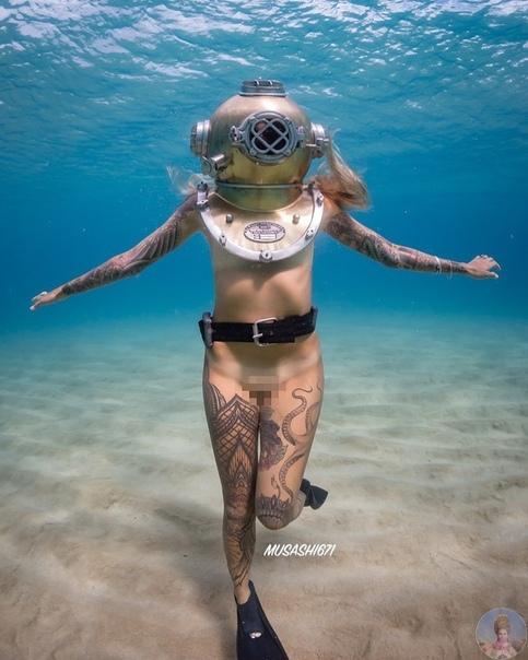 Морская богиня ristine Le-Esposito