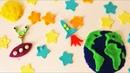 Eggs,playdough,eggs,egg,surprise eggs планета из пластилина. Планета из пластилина