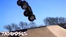 Skatepark Throwdown – Traxxas E-Revo Brushless