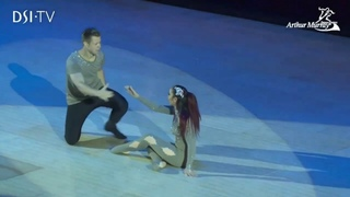 Luka and Jenalyn (Canada) Exhibition Dance - 2017 British Open