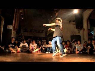 NAOKI(至芸) vs TWINS DADDY  KATSUMI(PYRO) DANCE@LIVE 2014 HOUSE KANTO vol.2 【FINAL】