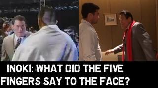 Antonio Inoki Slaps Lyoto Machida Again 16 Years Later After His Pro MMA Debut