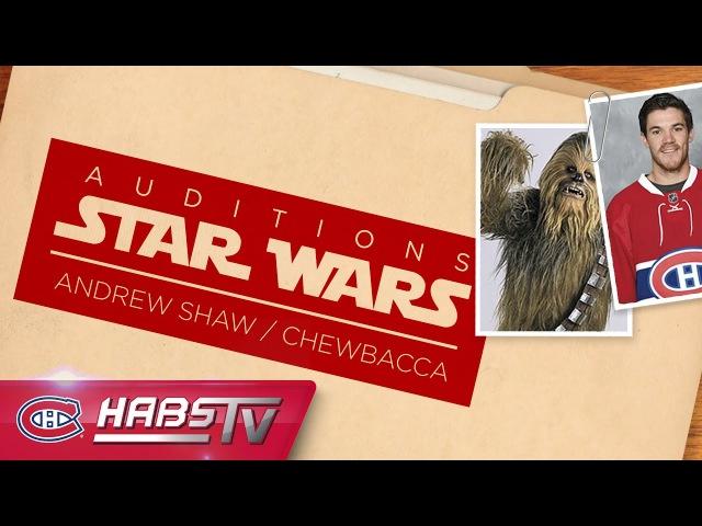Andrew Shaw's Chewbacca impression