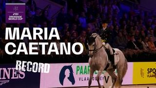 Maria Caetano & Coroado Record Breaking Performance | FEI Dressage World Cup™