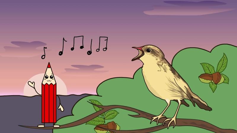 Мультфильм про перелетных птиц Развивающие мультики для детей до 4 х лет
