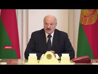 Александр Лукашенко о коронавирусе, избытке масок и закрытии границы с Россией