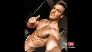 Super Shredded Muscle Fitness Model Power Joel Back Workout Styrke Studio Muscle Gym