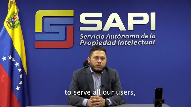 Видеообращение Автономной службы интеллектуальной собственности Венесуэлы
