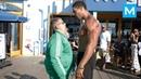 Fat Man VS Bodybuilders Epic Prank Muscle Madness