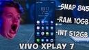 VIVO XPlay 7! Новый по настоящему безрамочный смартфон! Snapdragon 845 10Gb RAM в 2018 году!