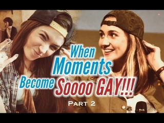 DOM&KAT || WHEN MOMENTS BECOME SO GAY!!! PART 2