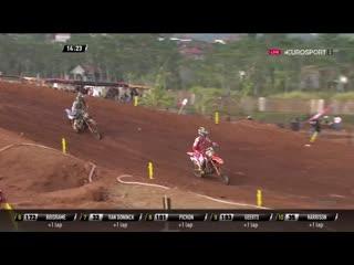 MX2/MXGP 2019. Гран-При Азии. Вторые гонки