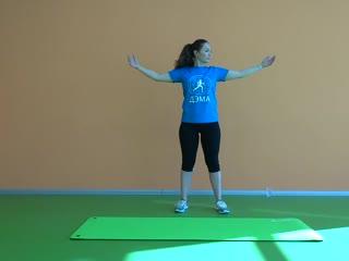 """Промо-видео он-лайн урока """"Лечебная гимнастика"""""""
