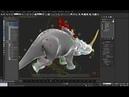 Пол Нил: Настройка мышц через модификатор Flex в 3Ds Max. Часть 1