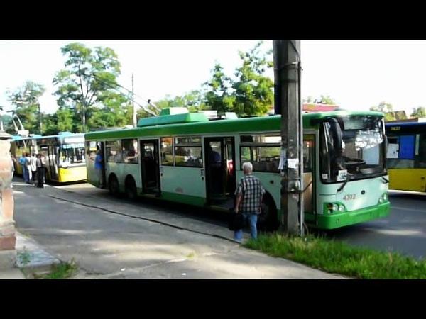 Лазо мазо и другие троллейбусы Киева Trolleybuses of Kiev