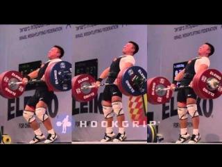 Oleg Chen (69) - 169kg/172kg/176kg Cleans